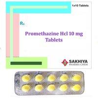 Promethazine Hcl 10mg Tablets