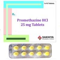 Promethazine Hcl 25mg Tablets