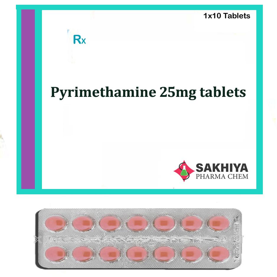Pyrimethamine 25mg Tablets