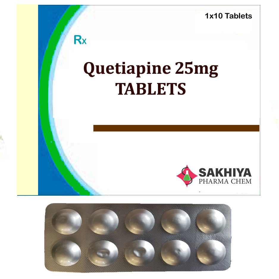 Quetiapine 25mg Tablets