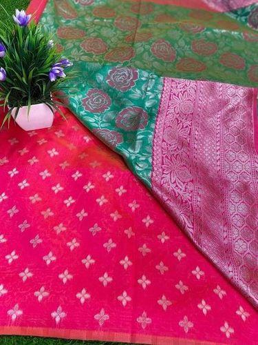 Green Kanjivaram Saree