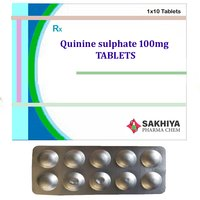 Quinine Sulphate 100mg Tablets