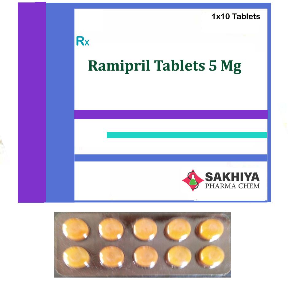 Ramipril 5mg Tablets