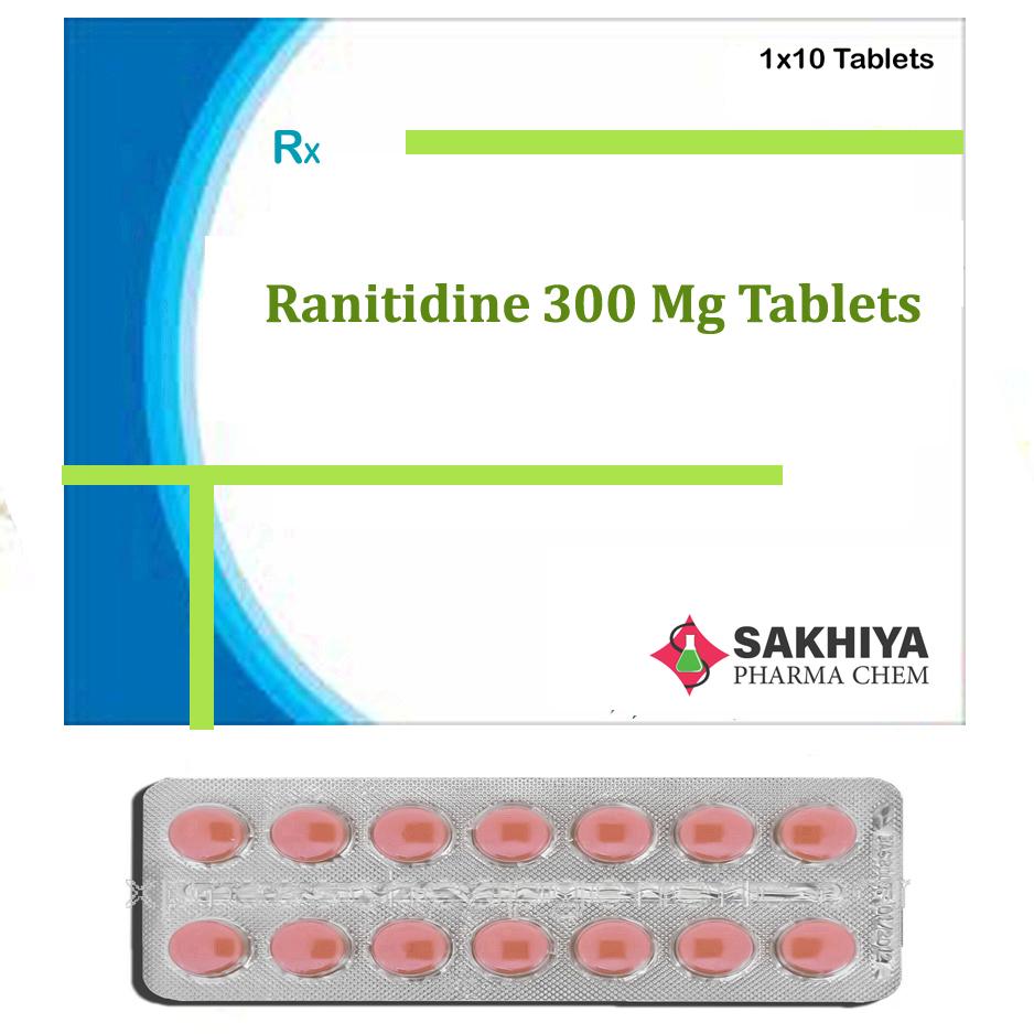 Ranitidine 300mg Tablets