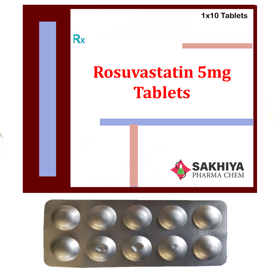 Rosuvastatin 5mg Tablets