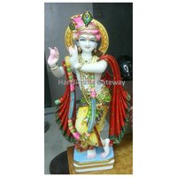 Exclusive Pure Marble Krishna Statue