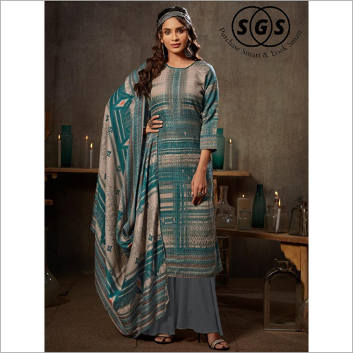 Occasional Wear Printed Palazzo Suit