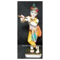 Multicolor Lord Krishna Statue For Home Use