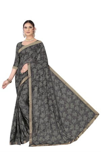Designer Lycra Printed Sarees