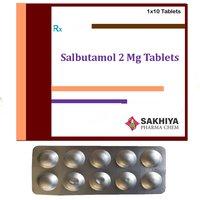 Salbutamol 2mg Tablets