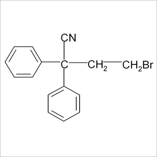 4-Bromo-2 2-Diphenyl Butyronitrile
