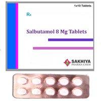 Salbutamol 8mg Tablets
