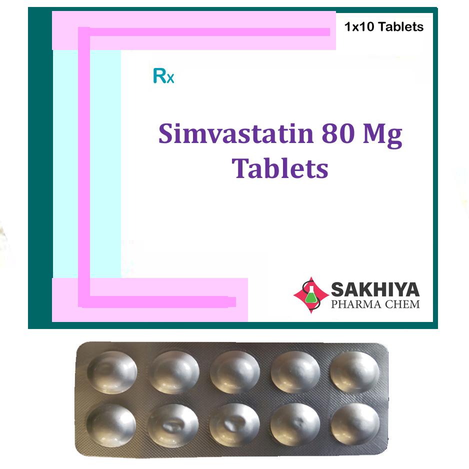 Simvastatin 80mg Tablets