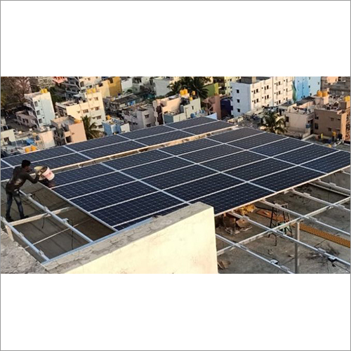 High Rise Solar Plant Structure