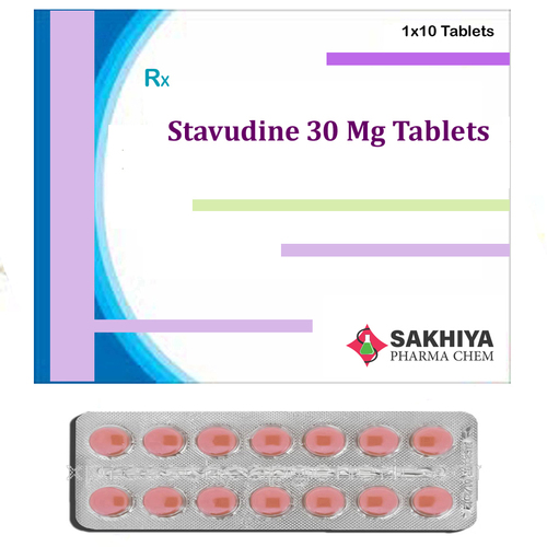 Stavudine 30mg Tablets