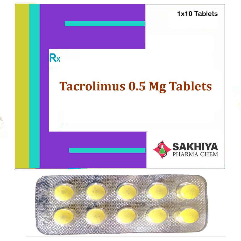Tacrolimus 0.5mg Tablets