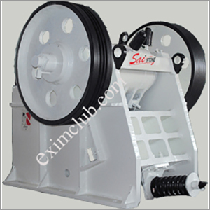 Secondary Grease Type Single Toggle Jaw Crusher size 600 mm x 150 mm (24 x 6)