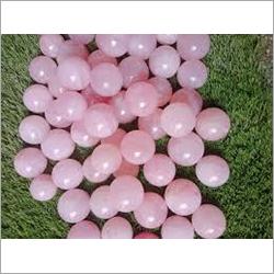 Prayosha Crystals Pink Agate Stone Balls