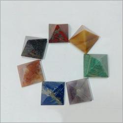 Prayosha Crystals Agate Stone Pyramid