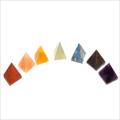 Prayosha Crystals Natural Stones Pyramid