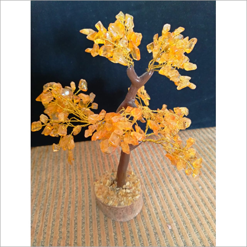 Prayosha Crystals Citrine Stone Tree