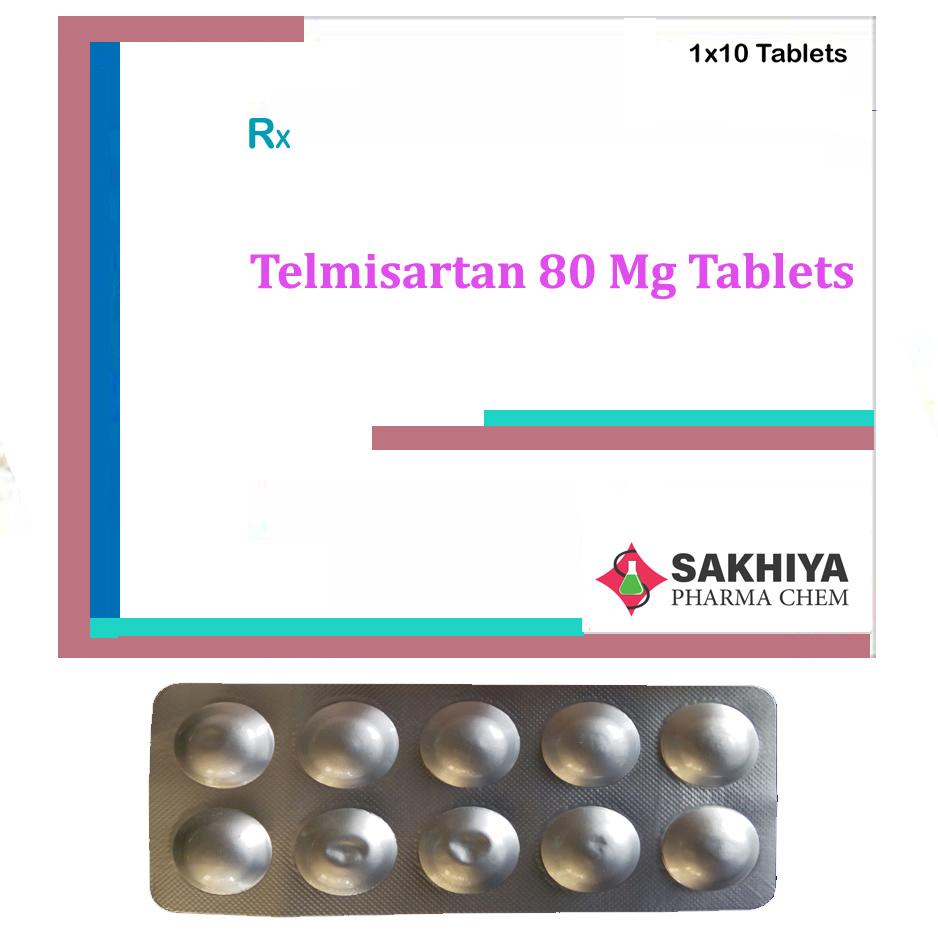 Telmisartan 80mg Tablets