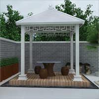 Aluminium Pergola With Roof