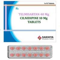 Telmisartan 40mg + Cilnidipine 10mg Tablets