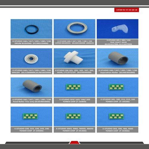 Toshiba E Studio 166 / 232 / 205 / 280 /230 Spare Parts