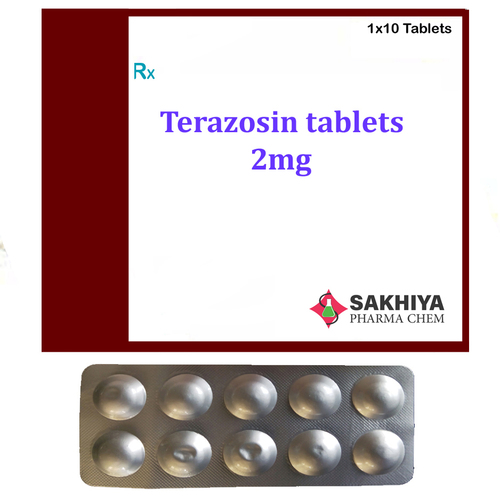 Terazosin 2mg Tablets