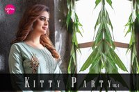 Kitty Party Vol 4 Muslin Chanderi Kurtis With Pant