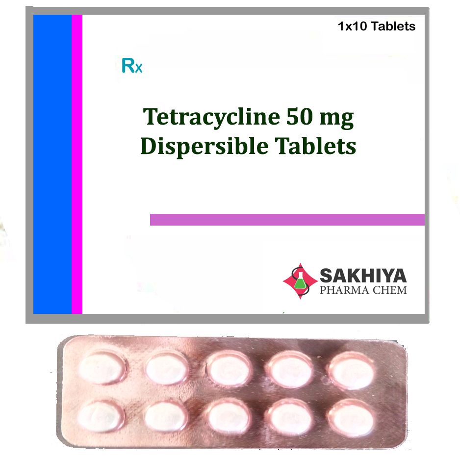 Tetracycline 50mg Dispersible Tablets