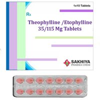 Theophylline 35mg + Etophylline 115mg Tablets