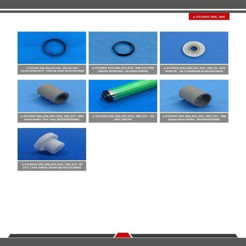 Toshiba E-Studio 205 / 206 / 207 / 255 / 305 / 257 Spare Parts