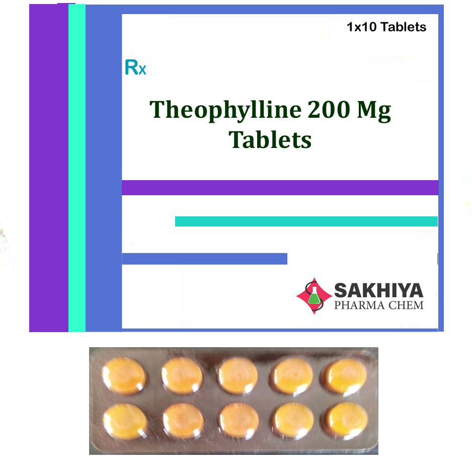Theophylline 200mg Tablets
