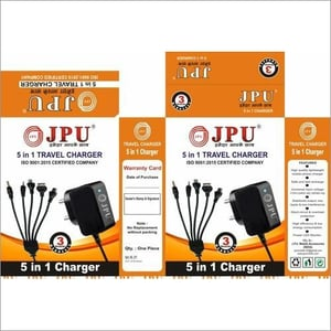JPU AC 5 In 1 Mobile Charger
