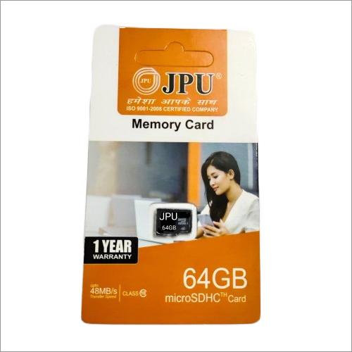 JPU 64 GB Memory SD Card