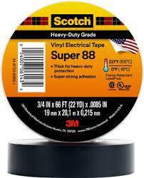 3m Scotch Super 88 Electrical Vinyl Tape 38.1mm X 32.9m