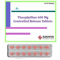 Theophylline 600mg Controlled Release Tablets