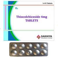 Thiocolchicoside 4mg Tablets