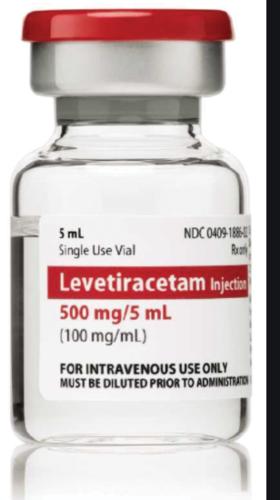 LEVETIRACETAM 500MG /5ML INJECTION