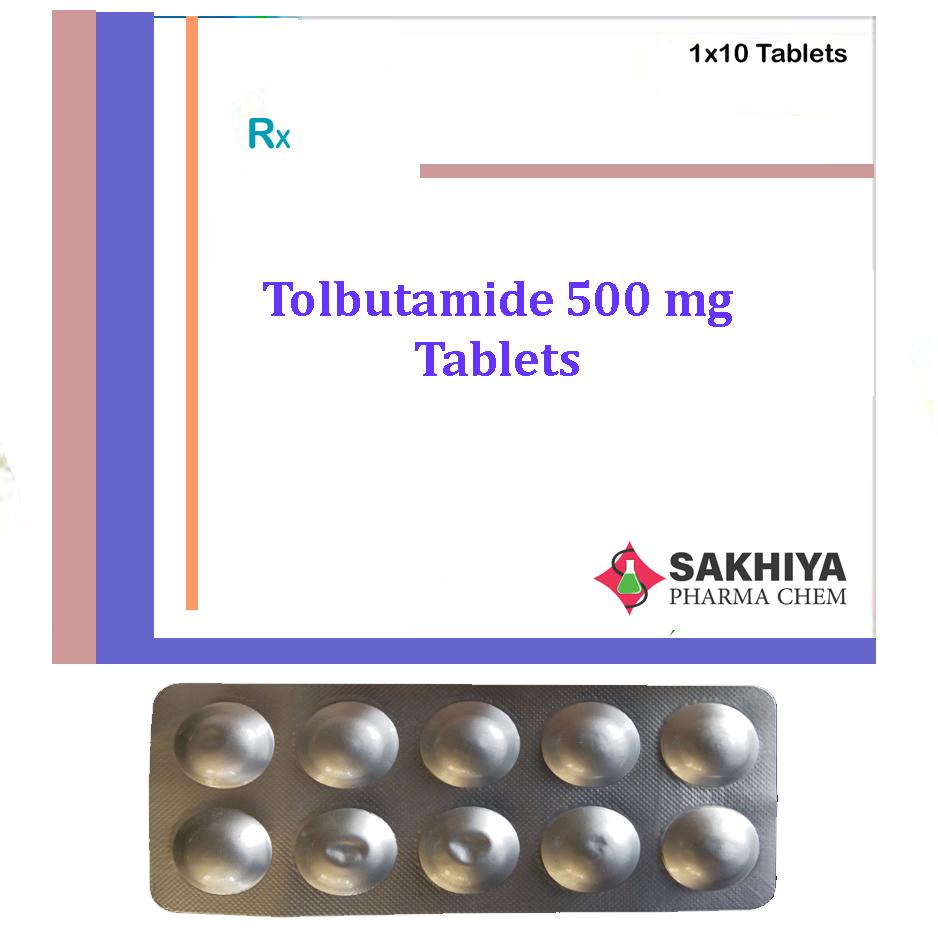Tolbutamide 500mg Tablets