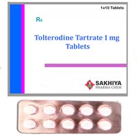 Tolterodine Tartrate 1mg Tablets