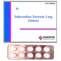 Tolterodine Tartrate 2mg Tablets