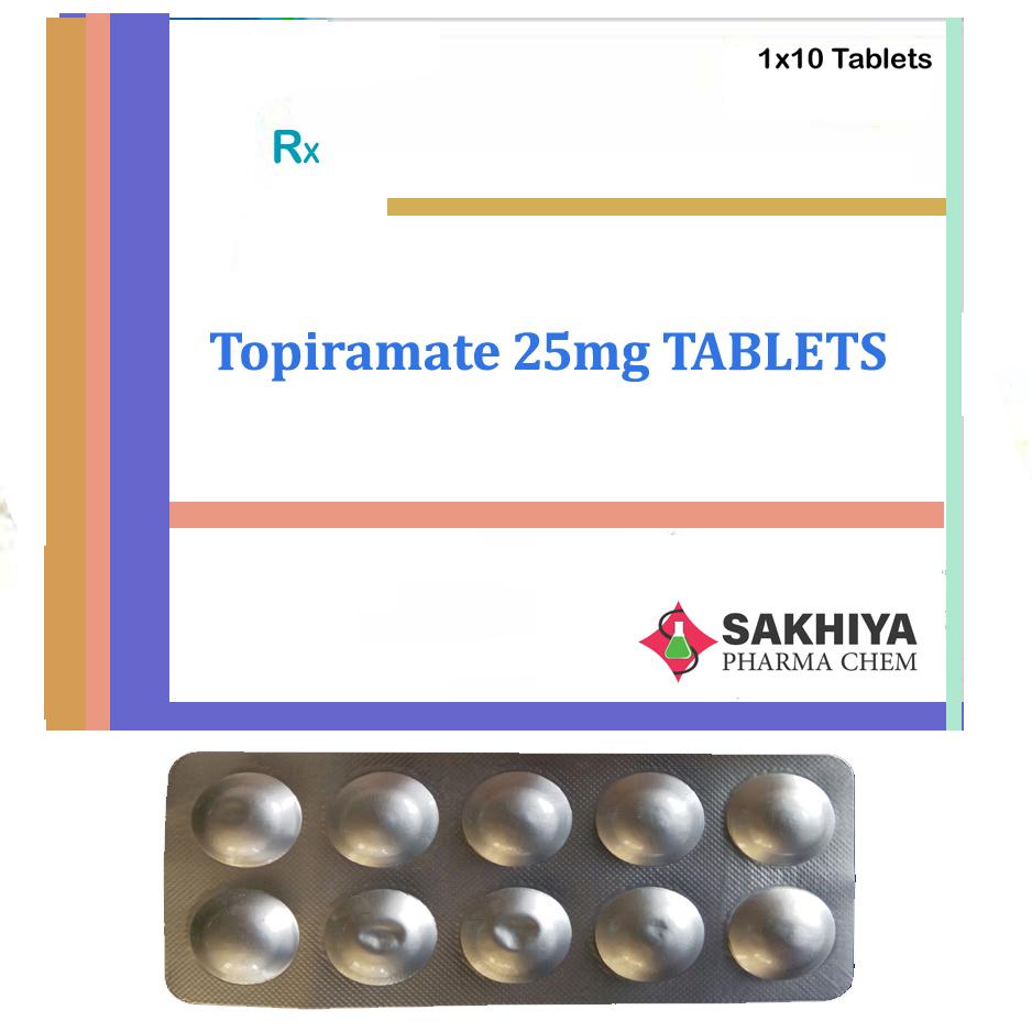 Topiramate 25mg Tablets