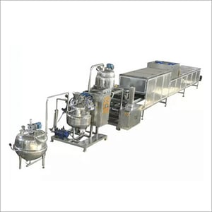 Industrial Toffee Candy Depositing Line