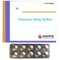 Valsartan 40mg Tablets