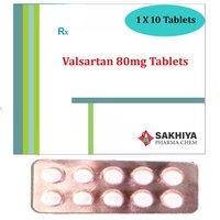 Valsartan 80mg Tablets