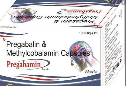Pregabalin 75mg,methycobalamin 750mcg Capsules