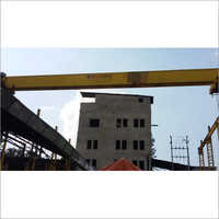 Single Girder Box Type Gantry Crane